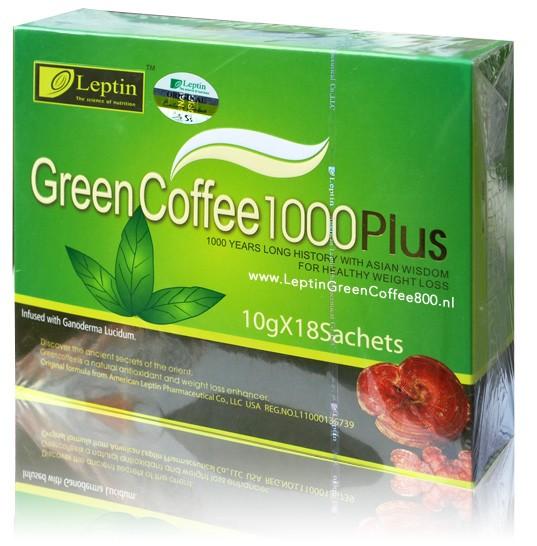 afvallen met groene koffie