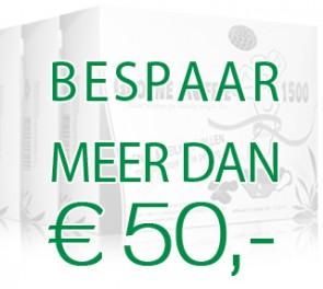 Groene koffie 1500 actie Pakket